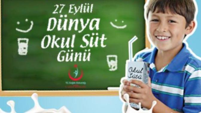 27 Eylül Dünya Okul Süt Gününün Önemi