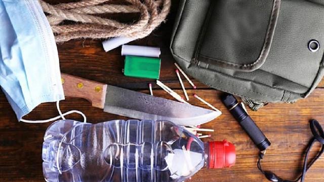 Deprem Çantası Hazırlarken Çantaya Başlıca Konulması Gerekenler!