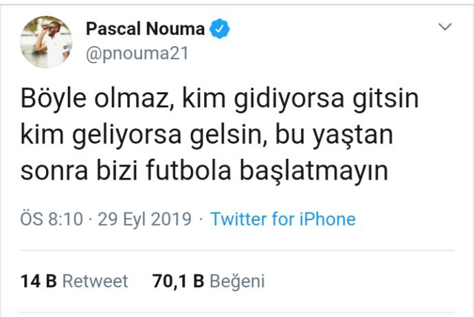 Pascal Nouma: Bu Yaştan Sonra Futbola Başlatmayın!