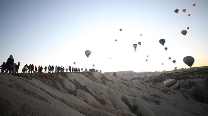 Kapadokya'daki Balonlar Para Basıyor