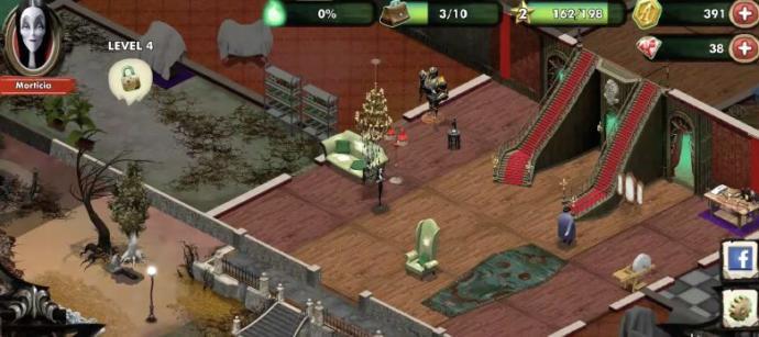 Addams Family Mystery Mansion Mobil Cihazlara Çıktı!