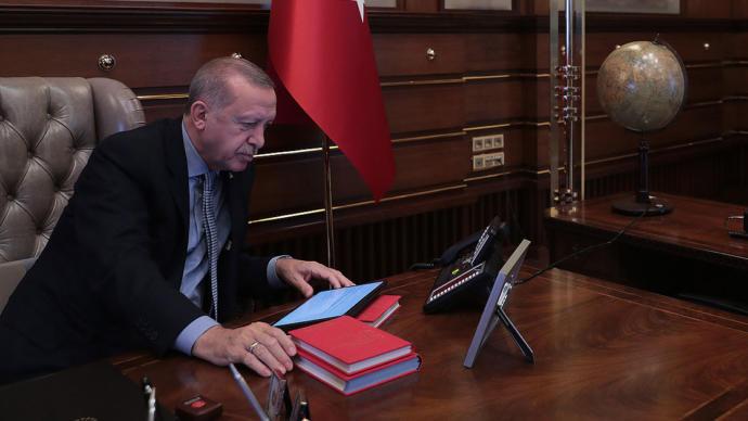 Erdoğan'ın Harekat Emrini Verdiği An