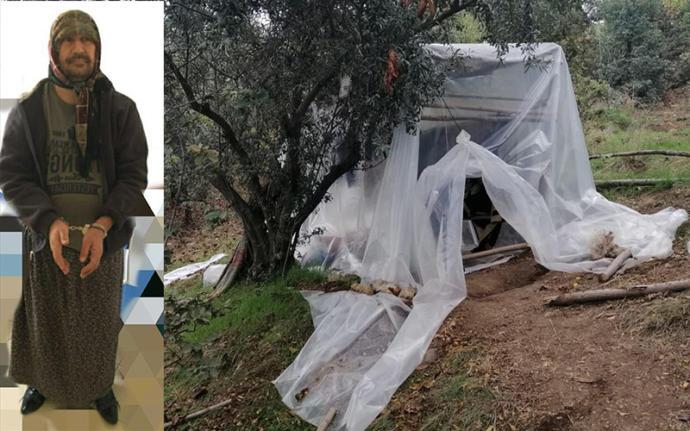 5 Yıldır Aranan Suçlu Ormanda Kadın Kıyafetiyle Yakalandı