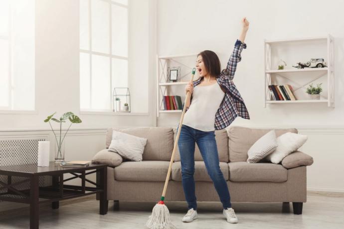 Yeni ev temizliği