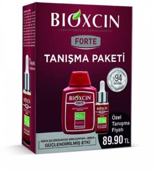 Bioxcin şampuan ve serum