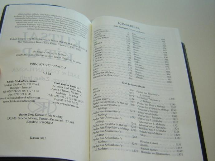 Din Meraklılarına Detaylı Bir Kitap: Kutsal Kitap (Kitab-ı Mukaddes)