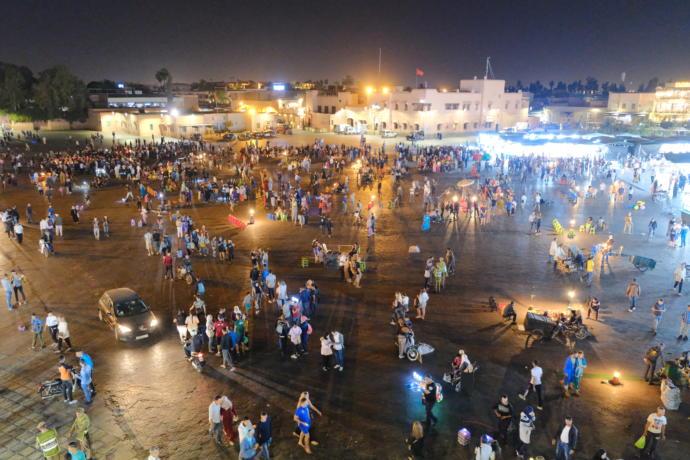 Jemaa El-fenaa meydanı
