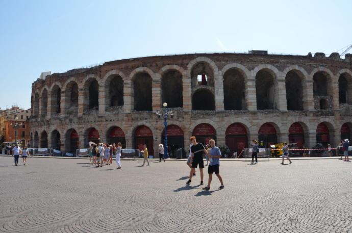 Bir Başka İtalyan Şehri: Aşıklar Şehri Verona!