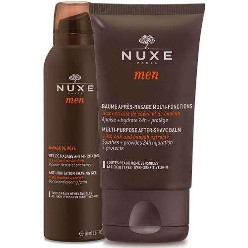 Nuxe Men Traş Jeli ve Nuxe Men Tıraş Sonrası Balsamı