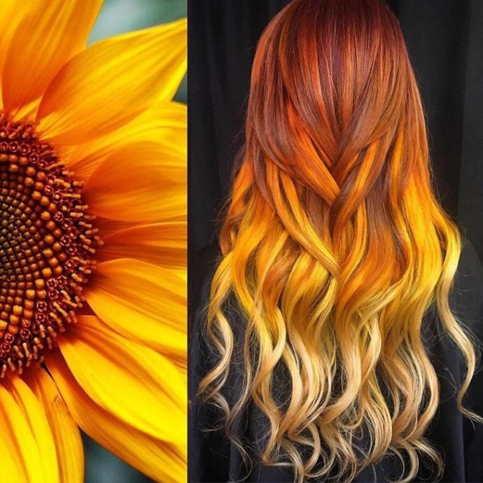 Tabiatın Sunduğu Güzellikleri Saçlarına Yansıtan Modeller