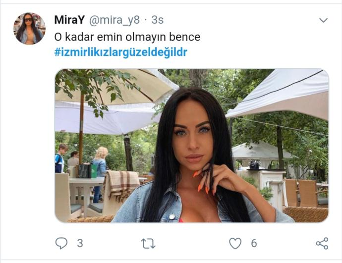 Twitterda #izmirlikızlargüzeldeğildr Diye Hashtag Açan Yaramaz Kullanıcıyı Fotoğraflarıyla Döven İzmirli Kızlar