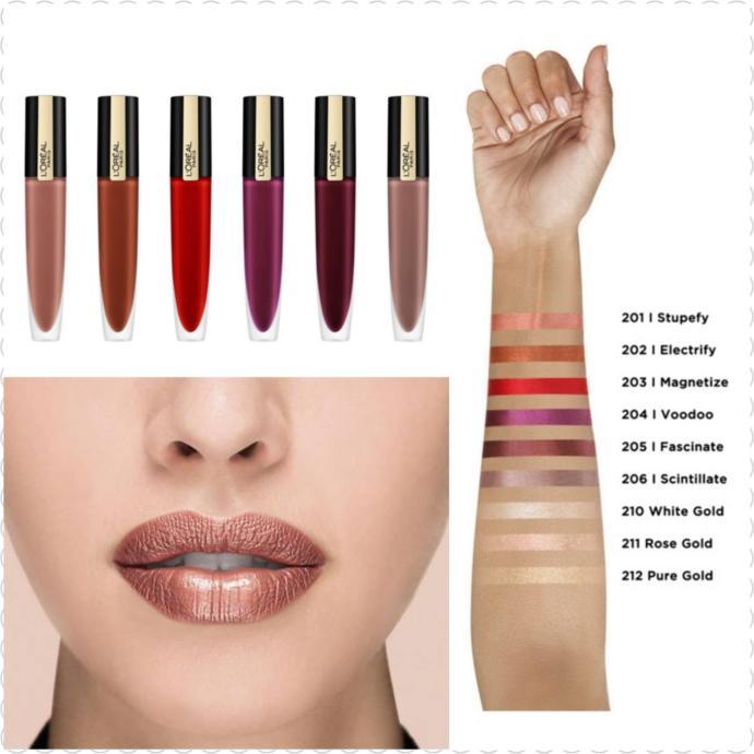 L'Oréal Paris Rouge Signature Metallics Likit Mat Ruj