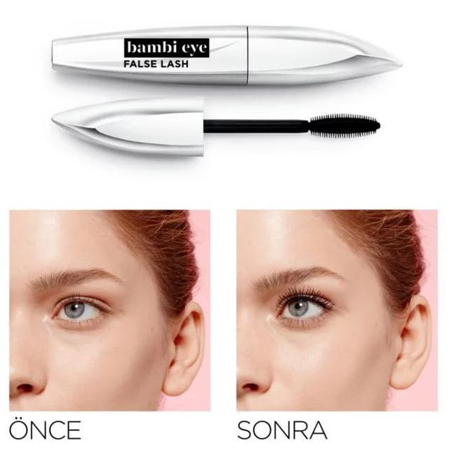 L'Oréal Paris Bambi Eye Ceylan Göz Etkili Maskara