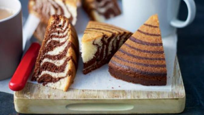 Görüntüsüne Hayran Kalacaksınız: Zebra Kek Tarifim Sizlerle!🌟
