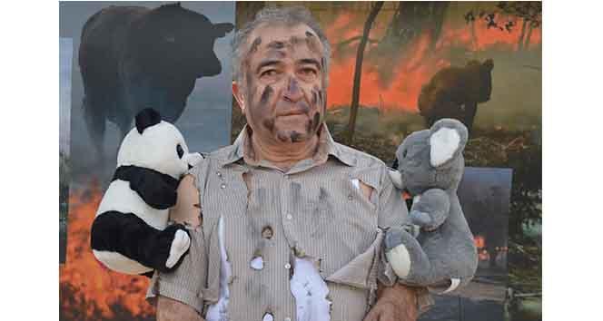 Avustralyadaki Yangınları Pelüş Oyuncaklarla Protesto Etti