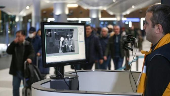 Çin'den Gelen Yolcular İstanbul Havalimanı'nda Termal Kameralarla Taranıyor