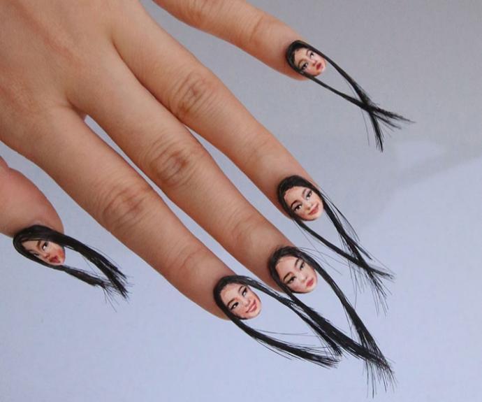 Saç Şekillendirmenin Farklı Boyutu: Saç Tellerinden Tırnaklarına Saç Modeli Veren Kadın İle Tanışın!