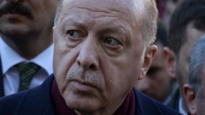 Cumhurbaşkanı Erdoğan'ın Gözyaşı