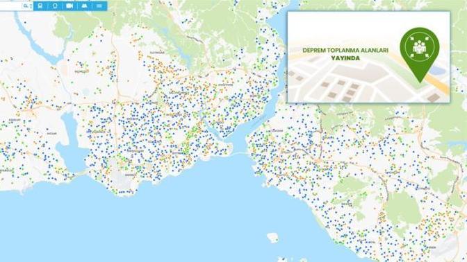 İşte İstanbul'daki Deprem Toplanma Alanları