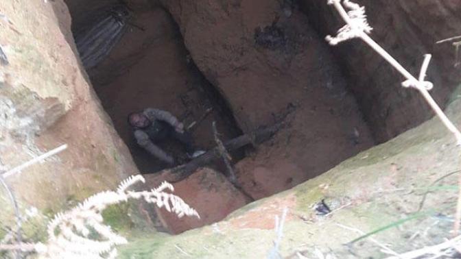 Ormanda Gezintiye Çıkan Şahıs Düştüğü Kuyuda 2 Gün Geçirdi!
