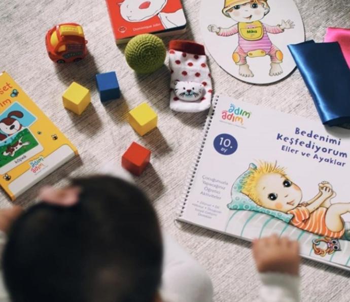 Bebeğiyle Kaliteli Vakit Geçirmek İsteyen Anneler İçin 0-4 Yaş Arası Çocuklara Aktiviteler: Adım Adım