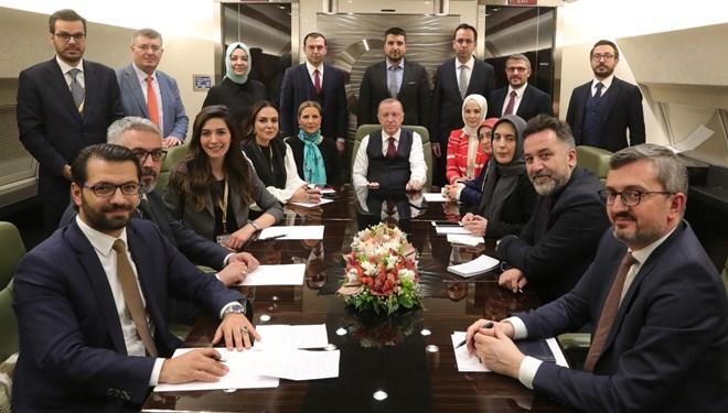 Erdoğan ve gazeteciler