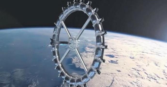 Kısa Bir Süre Sonra Balayı İçin Uzay Otelini Tercih Edebileceksiniz!