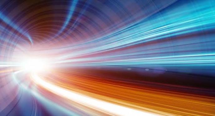 Işık hızı saniyede 299.792.458 metredir