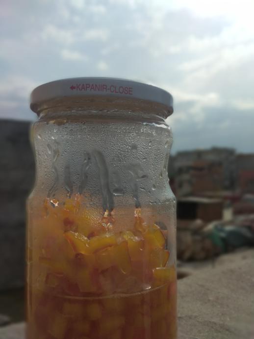 Portakal Kabuğu reçelimiz hazır