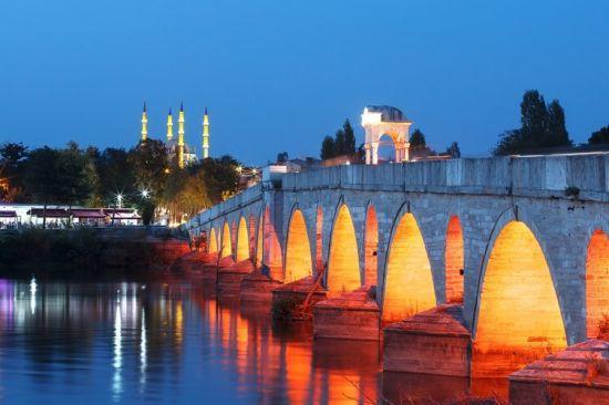 Tarihi Meriç Köprüsü