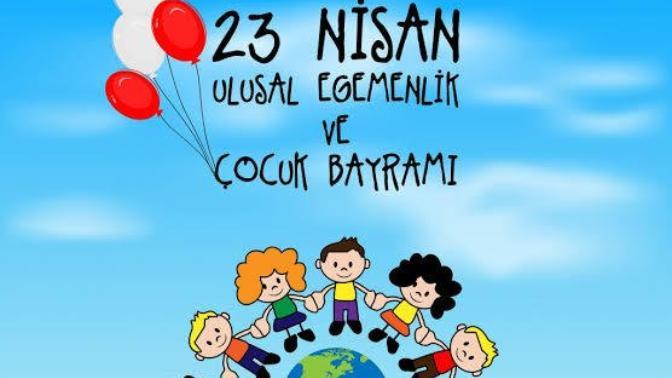 23 Ni̇san Ulusal Egemenlik ve Çocuk Bayramı'nın 100. Yılı İçi̇n El Ele Balkonlara