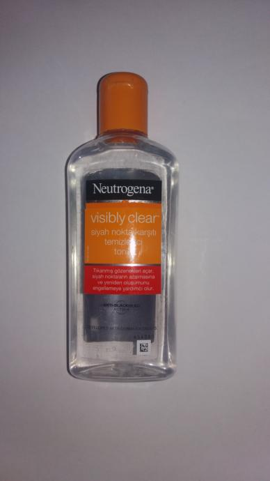 Neutrogena Siyah Nokta karşıtı temizleyici tonik