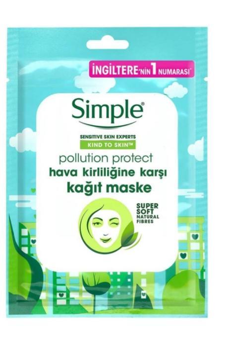 Simple Hava Kirliliğine Karşı Kağıt Maske
