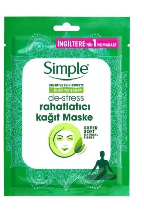 Simple Rahatlatıcı Kağıt Maske