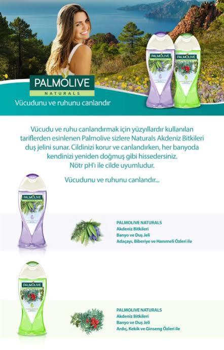 Palmolive duş jeli