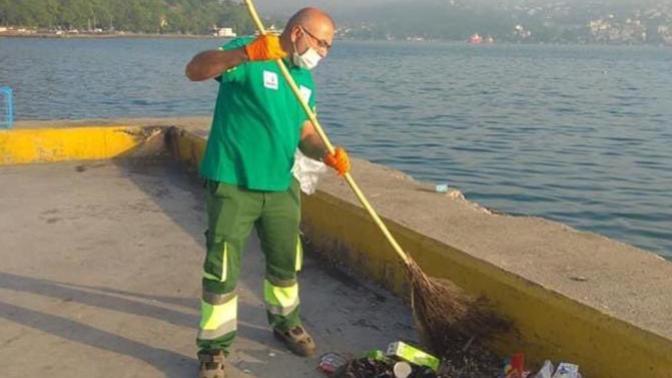 Sarıyer Belediyesi'nden Sitem Dolu Paylaşım: Temizleyen Var Nasılsa!
