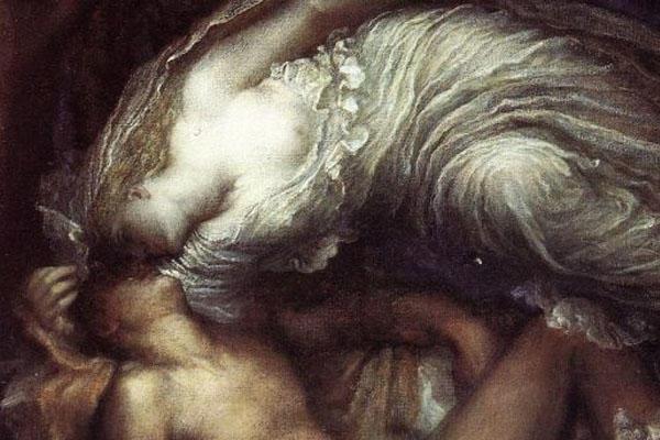 Ay tanrıçası Selene ve çoban Endymion