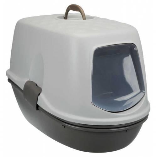 5- Tuvaletini dağıta dağıta, döke saça yapma özgürlüğünden vazgeçmeyen kediler için elekli tuvalet