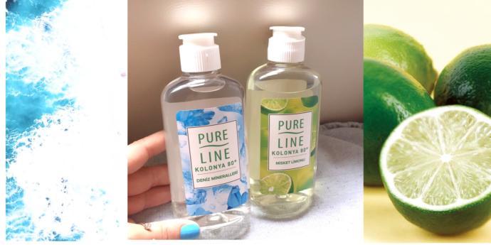 Yeni normalleşmede, tercihim Pure Line yeni nesil kolonyalar!