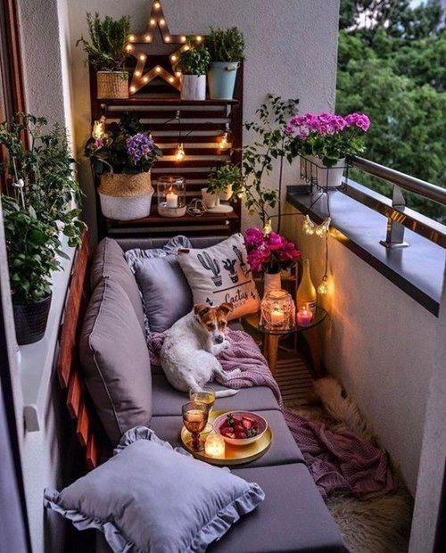 Balkonda Yazlık Havası Yaratmanın Yolları! Balkon Dekorasyon Taktikleri!