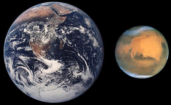 Geçmişte veya gelecekte marsta dünyamız gibi hayat dolu olabilir mi?