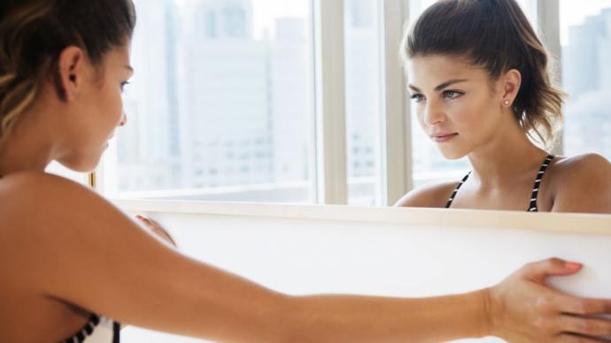 Sekse Boyut Katın: Ayna Fetişi
