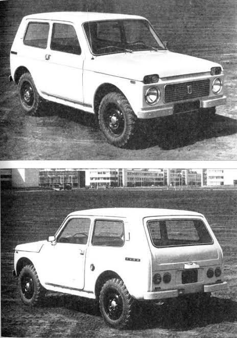1.3 litre motorlı ilk Lada Niva'nın fotoğrafları