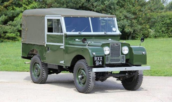 Tente tavanlı ilk Land Rover