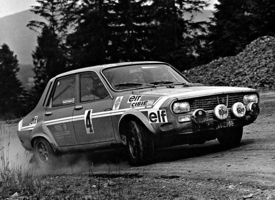 Renault 12 Alpine modeli rallilerde