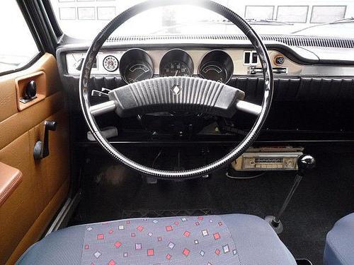 İlk R12 aracın iç kokpit görünümü