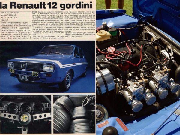 Renault 12 Gordininin Gazete reklamı