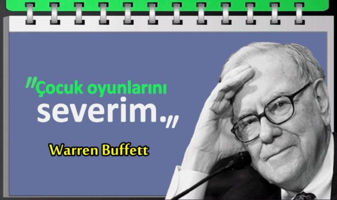 Bu 13 maddenin mimarı Warren Buffetttir.