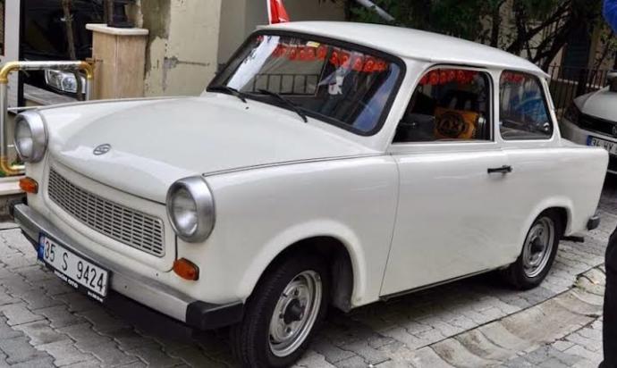 Doğu Almanların gurur kaynağı Trabant