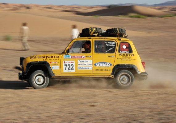 Renault 4 rallilerde